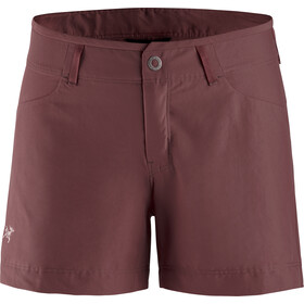 "Arc'teryx Creston Shorts 4,5"" Dames, inertia"